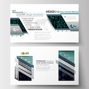 Business templates in HD size for presentation slides. Easy editable layouts in Stock Illustration