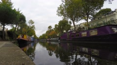 Little Venice, London, Time Lapse, 4k Stock Footage