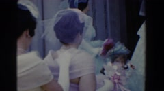 1960: preparation for the wedding party. BEL AIR MARYLAND Stock Footage