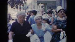1960: happening old ladies BEL AIR MARYLAND Stock Footage