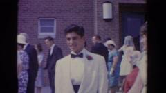1960: religious event taking place. BEL AIR MARYLAND Stock Footage