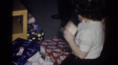 1960: the spirit of christmas BEL AIR MARYLAND Stock Footage