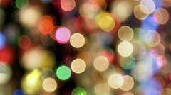 Bible Verse JEREMIAH 31:3 with bubble lights behind bokeh effect Stock Footage