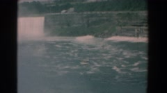 1958: the white water are as unique as niagara falls YORKTOWN VIRGINIA Stock Footage