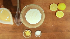 Food Ramadan recipes Fattet hummus is typically served as tehina, tahini  Stock Footage