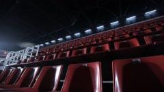 Basketball Arena Stock Footage