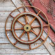 Hang helm on wall Stock Photos