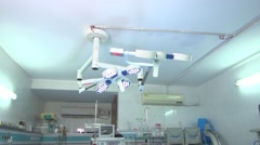 Operation Theatre wide shot Stock Footage