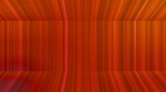 Broadcast Vertical Hi-Tech Lines Passage, Red, Abstract, Loopable, 4K Stock Footage
