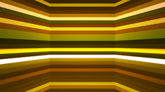 Broadcast Twinkling Horizontal Hi-Tech Bars Shaft, Green, Abstract, Loopable, 4K Stock Footage