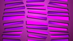 Three Sets of Pink Moving Stripes Motion Background Stock Footage