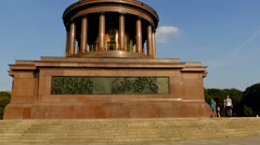 Victory Column is monument in Berlin, Germany Stock Footage