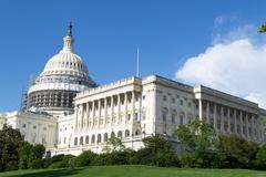US Capitol in Washington DC Stock Photos