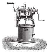 Spin dryer vintage engraving Piirros