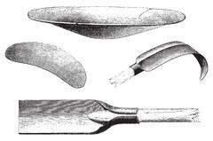 Tools minors, vintage engraving. Stock Illustration