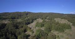 Aerial, Farmland, Nikovici, Crna Gora, Montenegro Stock Footage