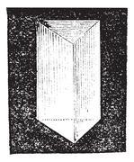 Optical prism vintage engraving Piirros
