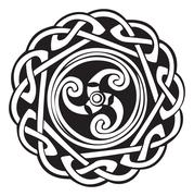 Abstract Celtic design Stock Illustration