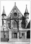 Former Church of St. Martin des Champs part of the Conservatory of Arts and C Stock Illustration