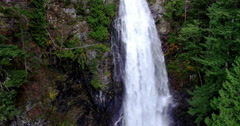 Close Up Raging Water Falls Stock Footage