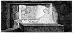 The resurrection, vintage engraving. Stock Illustration