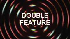 Grindhouse double feature Stock Footage