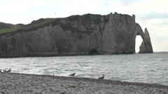 Normandy Beach Stock Footage