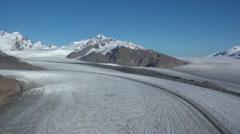The High Glaciers of Alaska Aerial Stock Footage
