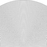 Set arc - sonar Stock Illustration