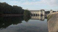 Chenonceau Castle Stock Footage