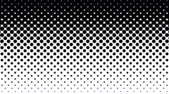 Black Dots Pattern on White Background. Stock Footage