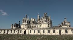 Chambord castle Stock Footage