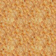 Seamless pattern of melted toasted cheese Stock Photos