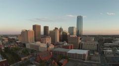 Oklahoma City Downtown Timelapse Stock Footage