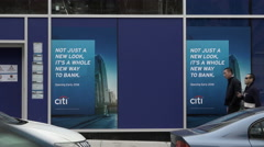 Citibank Branch in Williamsburg Brooklyn Stock Footage
