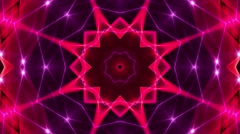 Kaleidoscopic background Stock Footage