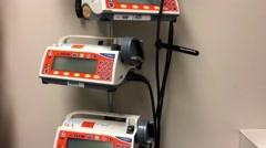 Hospital medical pumps HD  Stock Footage