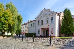 Beauty salon Gold Line in Trinity Suburb, Minsk, Belarus Stock Photos