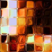 Fire glass tiles Stock Illustration