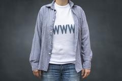 WWW internet surfer t shirt Kuvituskuvat