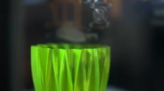 3D printing plastic element Arkistovideo