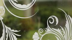 Original wedding decoration close up Stock Footage