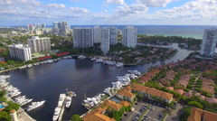 Aerial video Aventura Florida 4k Stock Footage