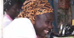 A Ghanaian woman Stock Footage