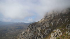 Valley of ghosts, Crimea Stock Footage