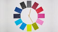 Business clock Stock Footage