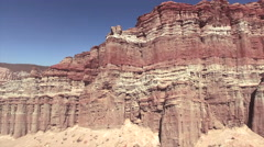 Red Rock Canyon State Park Aerial 4k Stock Footage