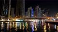 5K Dubai Marina night time lapse, United Arab Emirates 4k or 4k+ Resolution