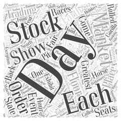 The Greatest Show on Earth word cloud concept Stock Illustration