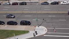 Street of Pennsylvania Avenue in Washington DC 4k Stock Footage